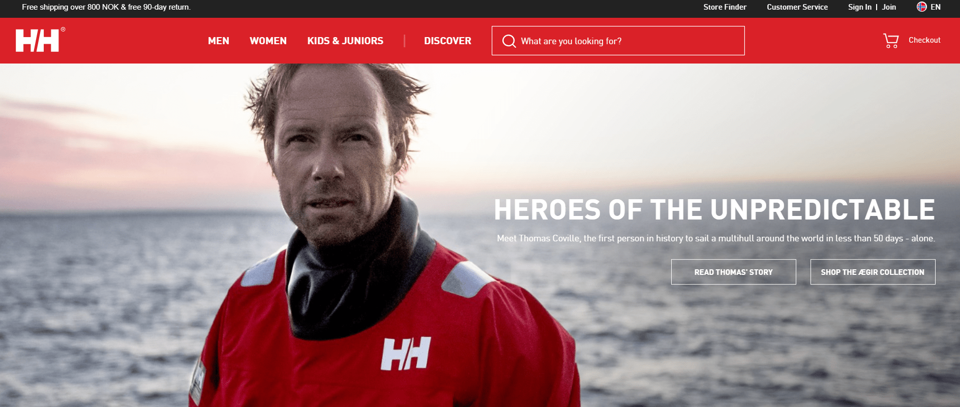 helly hansen website